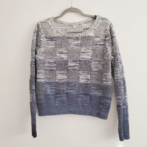 Margaret O'Leary Cotton Basketweave Knit Sweater